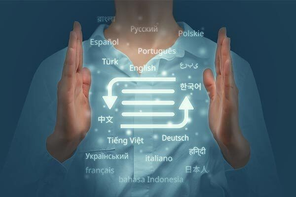 Voice-over translation from different languages of the world.